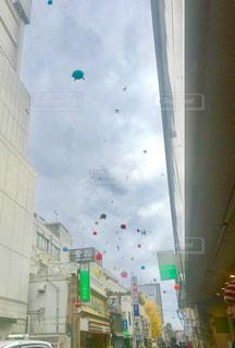 ポップな小田原の空の写真・画像素材[2144392]