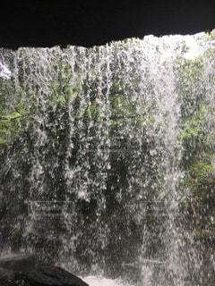 自然,滝,熊本,鍋ヶ滝,眺め