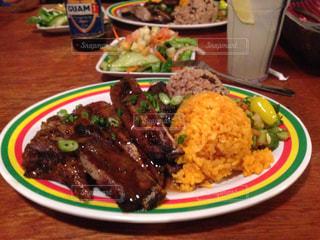 肉,料理,グアム,タモン,豪快,ジャマイカングリル