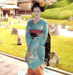 秋の舞妓さんの写真・画像素材[886163]