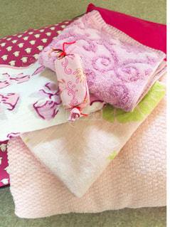 ピンク,ハンカチ,タオル,ピンク色,pink,ピンクだらけ