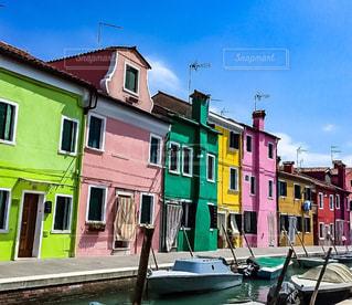 ベネチア ブラーノ島の写真・画像素材[1578780]