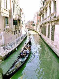 建物,屋外,緑,川,道,イタリア,ベネチア,ゴンドラ,運河,9月,石造り