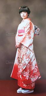 赤いドレスの人の写真・画像素材[1734433]
