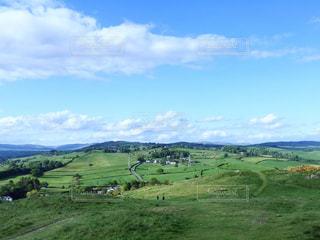 風景,春,芝生,景色,丘,雄大,イギリス,ハイキング,広大,オクセンホルム,ケンダル,The Helm