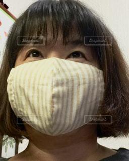 お家用マスクの写真・画像素材[2147928]