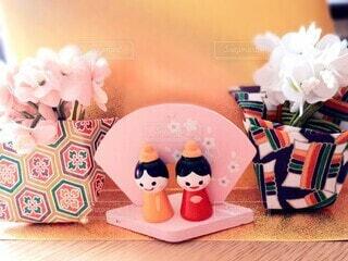 かわいい雛人形の写真・画像素材[4211872]