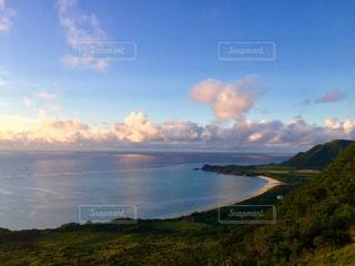 海,沖縄,朝焼け,旅行,石垣島