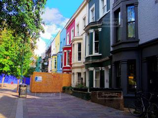 イギリス・ロンドンの街角の写真・画像素材[916285]