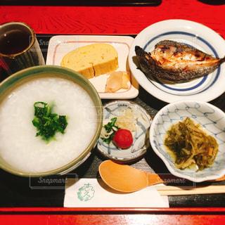 お粥、和食の写真・画像素材[1073409]