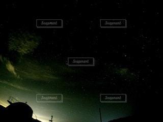 夜,夜空,暗い,沖縄,星,渡嘉敷島