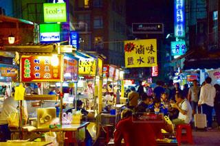 台湾の夜市の写真・画像素材[925792]