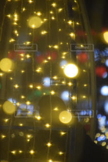 夜,ライト,光,イルミネーション,クリスマス