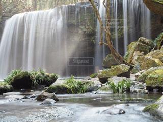 自然,滝,鍋ヶ滝