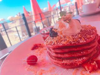 パンケーキ,ピンク,かわいい,デザート,ハワイ,Hawaii,royalhawaiianhotel,ピンクパレス,インスタ映え,サーフラナイ,surflanai,ピンクパレスパンケーキ