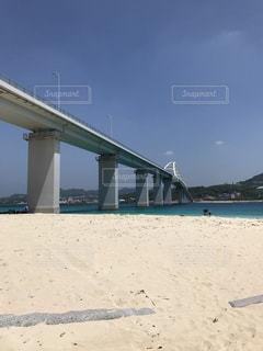 橋,砂浜,沖縄