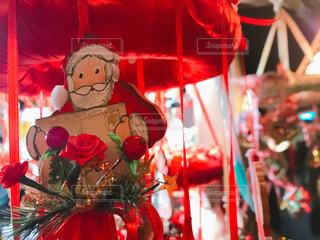 赤,綺麗,キラキラ,クリスマス,サンタ,六本木,マーケット,オーナメント