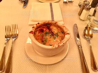 ニューヨークのオニオングラタンスープ - No.915765
