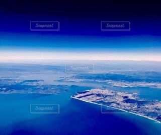 青い大地の写真・画像素材[4854765]