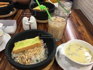 ランチ,パン,スープ,台湾,リゾット