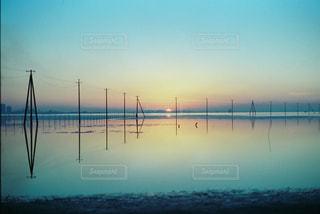 海に沈むの写真・画像素材[883040]