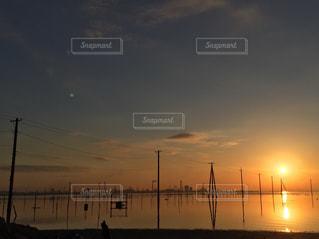 夕焼けの写真・画像素材[958960]
