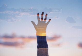 夕陽の写真・画像素材[1299811]