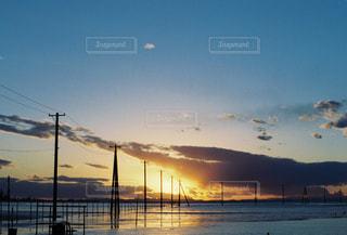 夕陽の写真・画像素材[1866773]