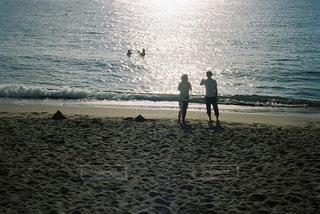 ビーチの人々 のグループの写真・画像素材[1232989]