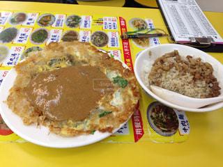 台湾,台北,魯肉飯,牡蠣のオムレツ,ルーローファン
