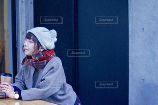 冬のカフェの写真・画像素材[886762]