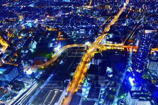 夜の都市の写真・画像素材[2716668]