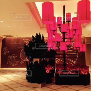 台湾のホテルロビーの写真・画像素材[944524]