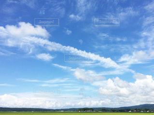 夏の雲の写真・画像素材[1096231]