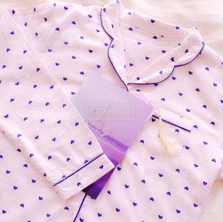 ハート柄のパジャマの写真・画像素材[1121385]