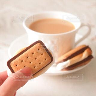 スモアクッキーの写真・画像素材[4292894]