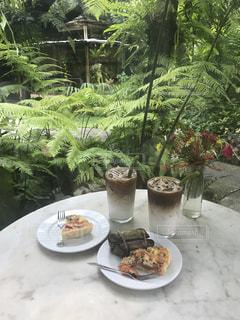 バンコクのオーガニックカフェの写真・画像素材[1174153]