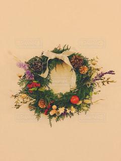 自然,花,フラワー,葉っぱ,ドライフラワー,リース,クリスマスリース,フラワーアレンジ