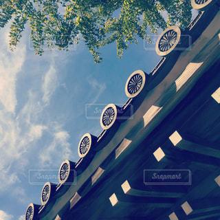 秋の空の写真・画像素材[890812]