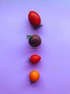 カラフルなトマトの写真・画像素材[3686464]