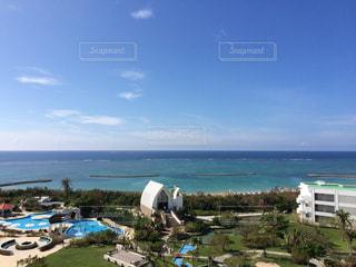 沖縄のホテルからの写真・画像素材[916900]
