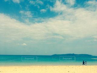 自然,海,空,雲,砂浜,沖縄,石垣島,めんそーれ,波打際,石垣島の海,海と子供