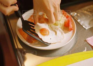 朝ごはんプレートの写真・画像素材[2482733]