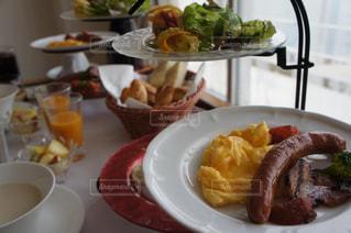 優雅な朝食の写真・画像素材[1170522]
