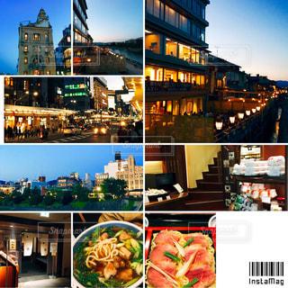 夜の京都の写真・画像素材[1209313]