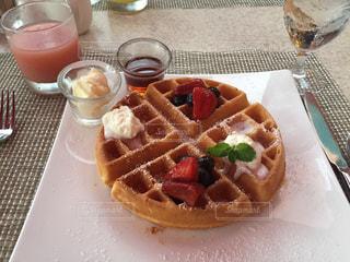 朝食,アメリカ,ワッフル,ハワイ,ワイキキ,ロイヤルハワイアン,サーフラナイ