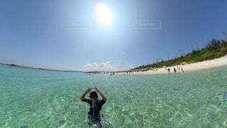 海,空,島,沖縄,旅行