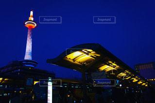 夜景,京都,観光,京都タワー