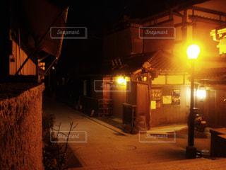 夜明け前の産寧坂 - No.908343
