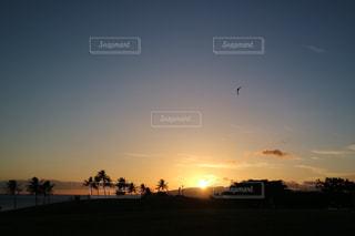 想い出の地、ハワイの夕焼けの写真・画像素材[1268834]